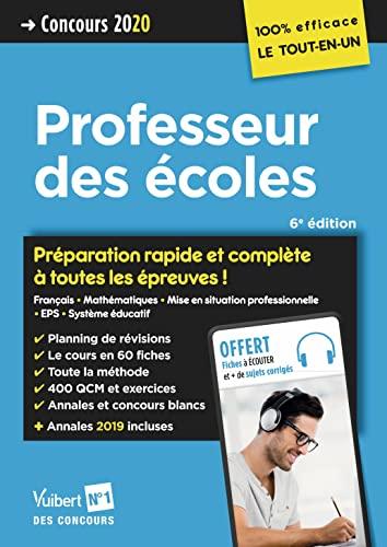 9782311206234: Concours Professeur des écoles - Préparation rapide et complète à toutes les épreuves - Tout le CRPE en un seul volume - Concours 2020