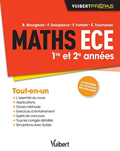 9782311400564: Maths ECE - 1re et 2e années - Conforme au nouveau programme