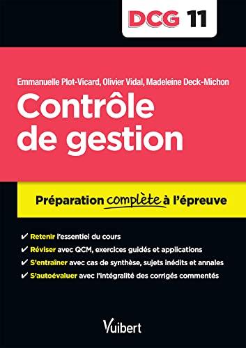 9782311402124: DCG 11. Contrôle de gestion - Préparation complète à l'épreuve