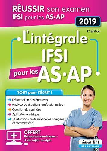 9782311660692: L'intégrale IFSI pour les AS-AP - Examen 2019