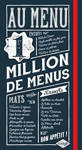9782317006203: Au menu : 1 million de menus