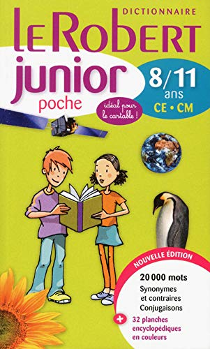 Le Robert Junior Poche: New 2012 Edition (French Edition): Collectif