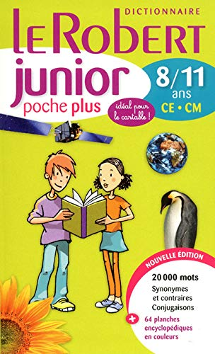 9782321000631: Le Robert Junior Poche Plus 2012 Edition: Monolingual French Dictionary for Ages 8-11 (French Edition)