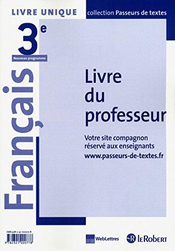 9782321000778: Français 3e Livre unique