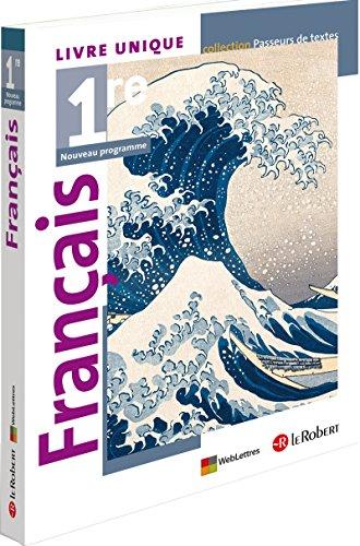 9782321000792: francais 1ere (passeurs de textes) livre de l'eleve 2012