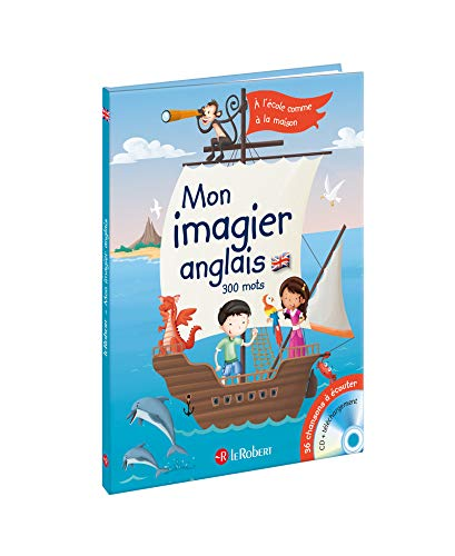 Mon Imagier Anglais (5 Years +) (French: Collectif