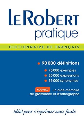 9782321001621: Le Robert pratique : Dictionnaire d'apprentissage de la langue fran�aise