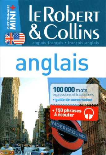 9782321002024: Dictionnaire Le Robert & Collins Mini Plus anglais (French and English Edition)