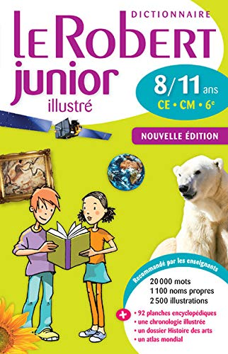 9782321002406: Le Robert Junior Illustre : Monolingual French Dictionary for Ages 8-11 (French Edition)