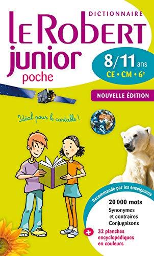 9782321002413: Le Robert Junior Poche - New Edn 2013 2013 (French Edition)