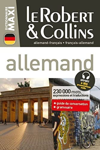 9782321004875: Dictionnaire Le Robert & Collins Maxi allemand