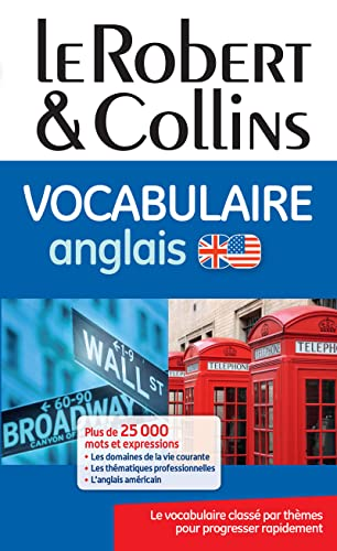 9782321005056: Le Robert & Collins Vocabulaire anglais (French Edition)