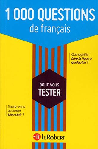 9782321006107: 1 000 questions de français