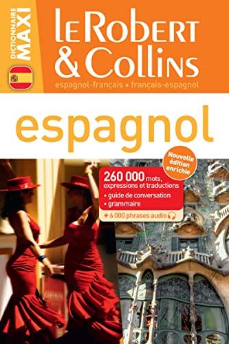 9782321006251: Le Robert & Collins dictionnaire maxi espagnol - francais / francais - espagnol (French Edition)