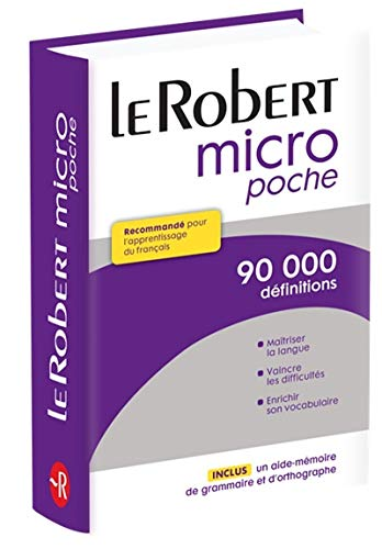 9782321006442: Dictionnaire Le Petit Robert Micro Poche (French Edition)