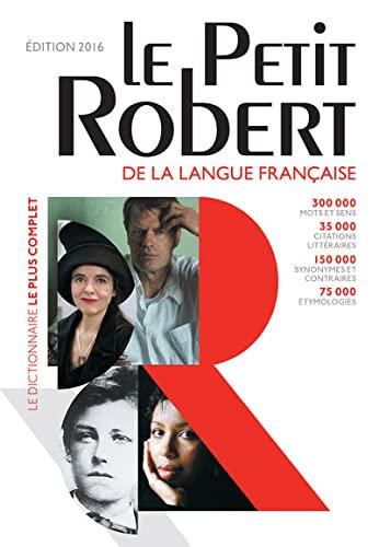 9782321006480: Dictionnaire Le Petit Robert 2016