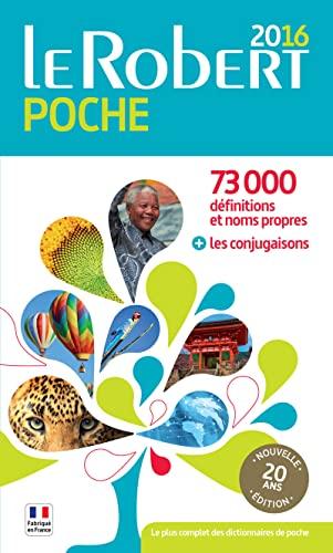 9782321006510: Dictionnaire Le Robert de poche francais - 2016 (French Edition)