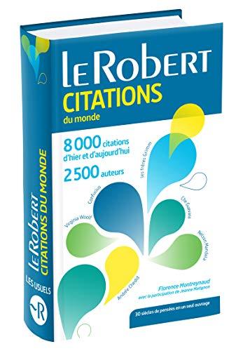 9782321006657: Le Robert Dictionnaire des citations du monde ( poche ) (French Edition)