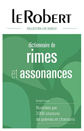 9782321006787: Le Robert Dictionnaire de rimes et assonances (French Edition)