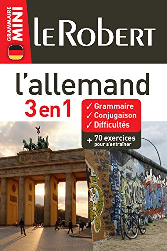 L'allemand 3 en 1 (Grammaire Mini): Le Robert