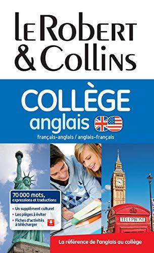 9782321006916: Dictionnaire Le Robert & Collins Collège Anglais + règle des verbes irréguliers