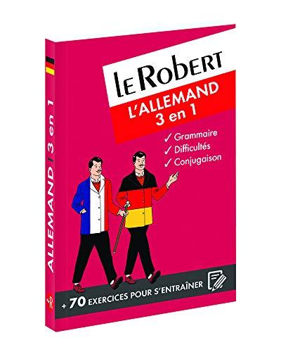 Le Robert - L'allemand 3 en 1: Collectif