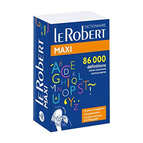 9782321010548: Dictionnaire Le Robert maxi 2018 (dic. Francais) (Robert maxi lf) (French Edition)