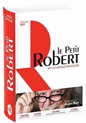 9782321012443: Dictionnaire Le Petit Robert de la langue française 2019