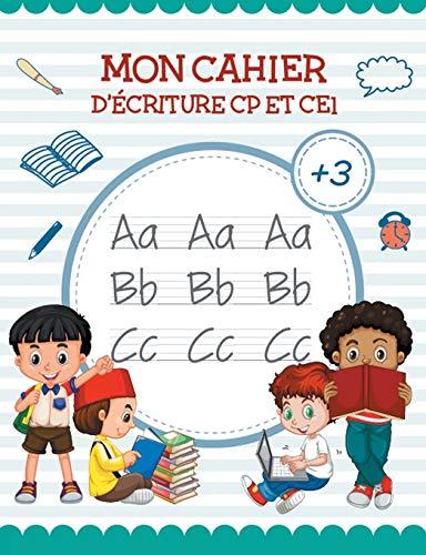 Mon Cahier de écriture - Apprendre lettre: Papeterie, Preschool