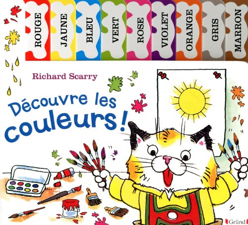 9782324005510: Découvre les couleurs ! French language version of All The Colors Of Busytown (French Edition)