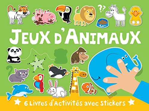 9782324006630: Valisette 6 livres Jeux d'Animaux
