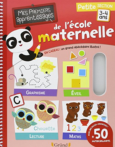 9782324008047: Mes premiers apprentissages de l'école maternelle : Petite section 3-4 ans