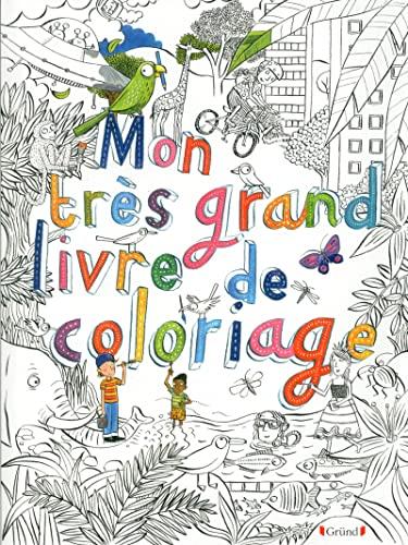 9782324008924: MON TRES GRAND LIVRE DE COLORIAGE