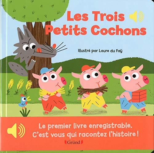 9782324009075: Mon premier livre enregistrable : Les trois petits cochons