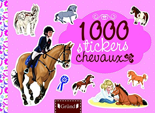 1 000 stickers chevaux: Mandrou, Isabelle