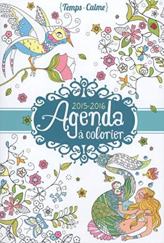Mon agenda à colorier 2015-2016: Varone, Eugénie