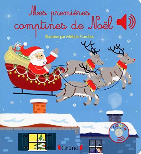 9782324011214: Mes premières comptines de Noël (Mes premiers livres sonores)