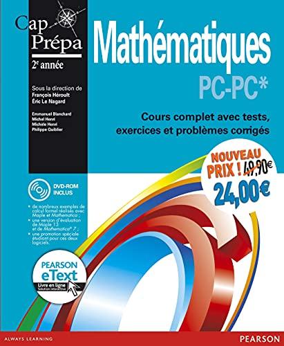 9782326000629: Mathématiques PC-PC* : Cours complet avec tests, exercices et problèmes corrigés + eText + DVD-ROM