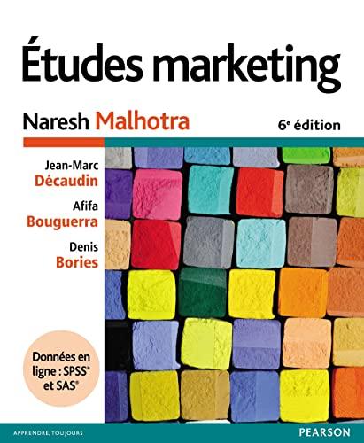 9782326000797: Etudes marketing 6e édition + Données en ligne : SPSS et SAS