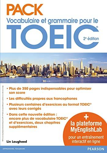 9782326000919: Pack Vocabulaire et grammaire pour le TOEIC : Avec la plateforme MyEnglishLab pour un entraînement interactif en ligne