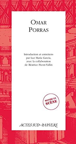 Omar Porras: Luz Maria Garcia;
