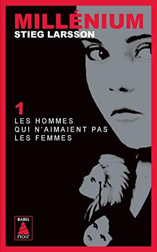 9782330004996: Millenium 1 (Paperback) Les Hommes Qui N'Aimaient Pas Les Femmes (French Edition)