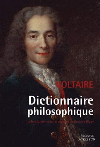 9782330006204: Dictionnaire philosophique