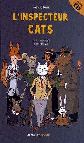 INSPECTEUR CATS -L- AVEC CD: BIHL AGNES