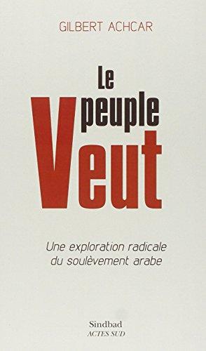 Le peuple veut: Gilbert Achcar