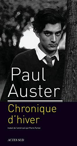 CHRONIQUE D'HIVER: AUSTER PAUL