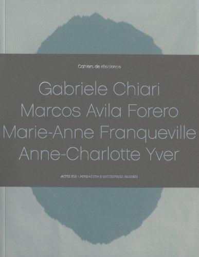Cahiers de Residence 2013 (Paperback)