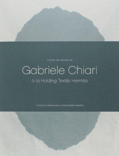 Cahiers de Résidence - N°4 [ 2013 ] - Fondation d'entreprise Hermès --------...