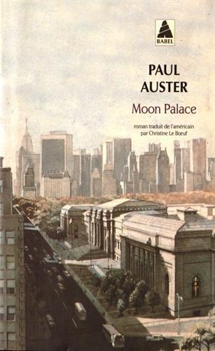 MOON PALACE N.É.: AUSTER PAUL