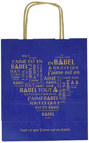 Lot 200 Sacs Kraft Babel Payants